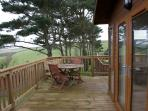 Lodge Balcony with Sitting and BBQ Area