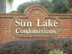 View of our gated and secure condo community just 2 miles from Disney
