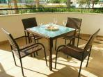 Large private terrace for al fresco dining