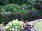 Ballagan burn through Old Smiddy garden