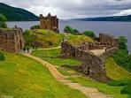 Urquhart Castle - 1 mile away