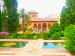 The amazing Alhambra palace at Granada