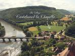 Visit Castelnaud castle & see the village, Dordogne river and valley from the turrets.