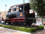 Aguilas train monument