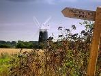 TThere are many lovely walks to be had in North Norfolk This is at Burnham Overy Staithe