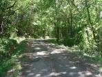 The lane approaching La Nique