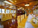 Restaurant on Elizabeth Sail