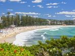 Manly on a Summer's day