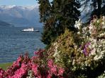 View across Lake Como