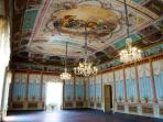 Inside the noble palace of the Prince of Villadorata Nicolaci