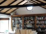 Library, Casa Amarilla (aircondicioned)