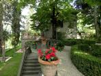 Italian Garden inspired by classical ideals of order and beauty.