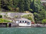 Beautiful lakeside setting