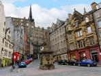 The West Bow, Grassmarket.