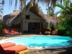 Romantic caribbean villa, 65 meter from beach.