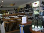 Prevelly store with wine tastings of Preveli wines.