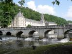 Brantôme - abbey and pont coudé