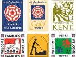 We are very proud to be highly accredited by VisitEngland and Produced in Kent. These are our values