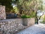 Small Olive Terrace perfect for a morning breakfast