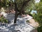Olive & Almond Terrace