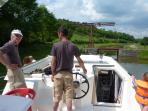On board on the canal, hire a boat from Baye(3Km) or cruise on the restaurant boat from there.