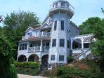 Lighthouse Home on Chauncey Creek