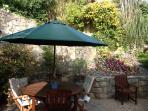 Al Fresco Dining in the Garden