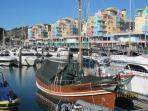 The New Marina at Albufeira 15 minutes walk