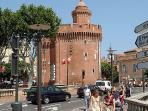 Castillet at Perpignan
