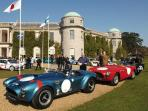 Motor racing event at Goodwood House