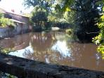 River running past Rochefoucauld