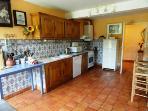 Open plan dining kitchen