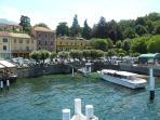 A Lake Como Ferry Stop