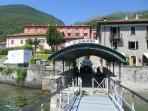 The Local Lake Como Ferry Stop (Inactive at present)
