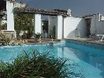 THIS IS NOT OUR POOL but we have an arrangement with our friend Susana, the owner of Hostal el Anon.