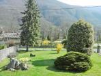 Villa's garden