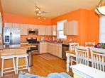 Large Kitchen Table and Living Area, Great for Gathering!