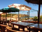 Quaint beachside cafés