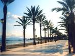 Los Alcazares Promenade - enjoy an after dinner stroll or walk for miles along the coastline