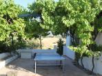 Table tennis terrace