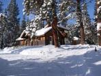 A 'Storybook Cottage' in a Winter Wonderland!