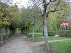 Boulodrome - in the Parc des Iles