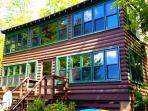 Classic Adirondack Lakefront Cabin on Quiet Lake