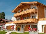 Front of the property only 150 meters from the ski lifts