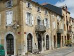 A typical old town house in Castelnau Magnoac, 12 minutes from the gite