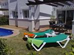 Relax & enjoy the pool and garden