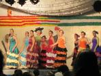 Flamenco dancers at local festival