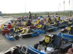 Go Karting at nearby San Fulgencio
