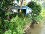 bungalove au bord du lagon