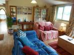 Plenty of comfortable seating in very spacious open plan living room/kitchen-diner
